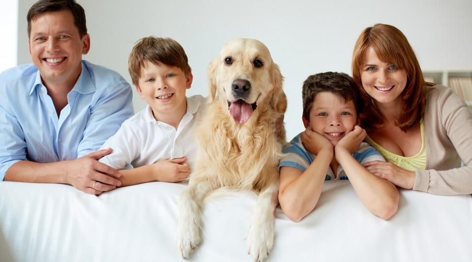 Eura Famiglia<br /> Responsabilità Civile<br /> del Capo famiglia<br /> e Animali domestici